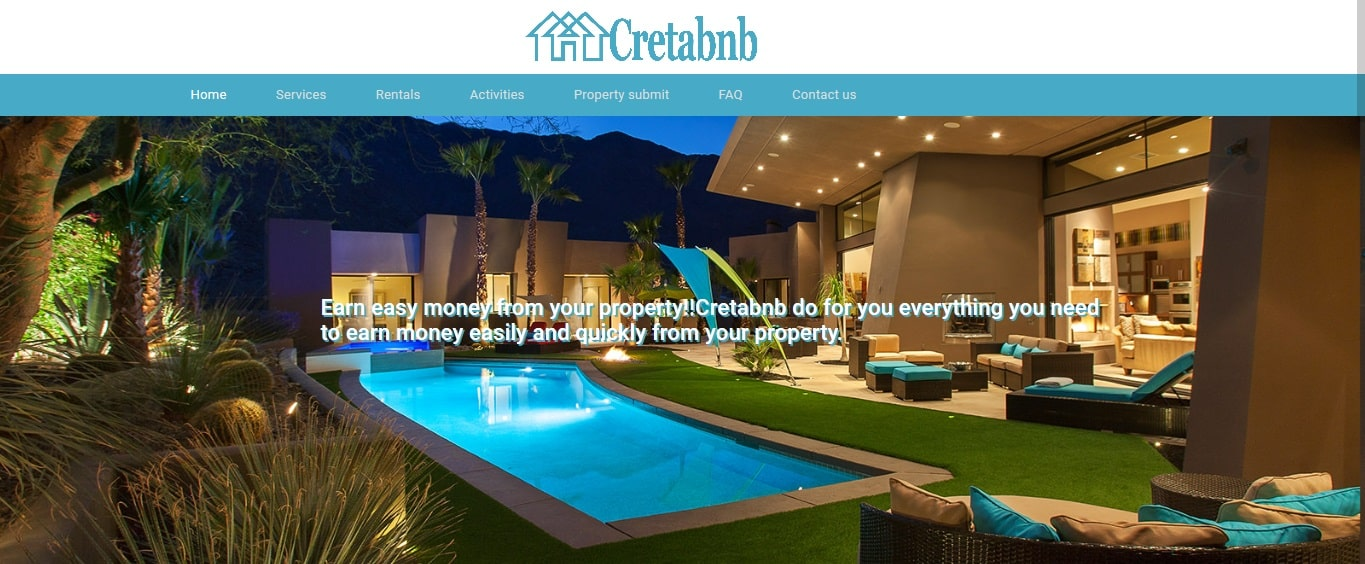 Cretabnb - Flexible airbnb management in Crete Rent your home-min